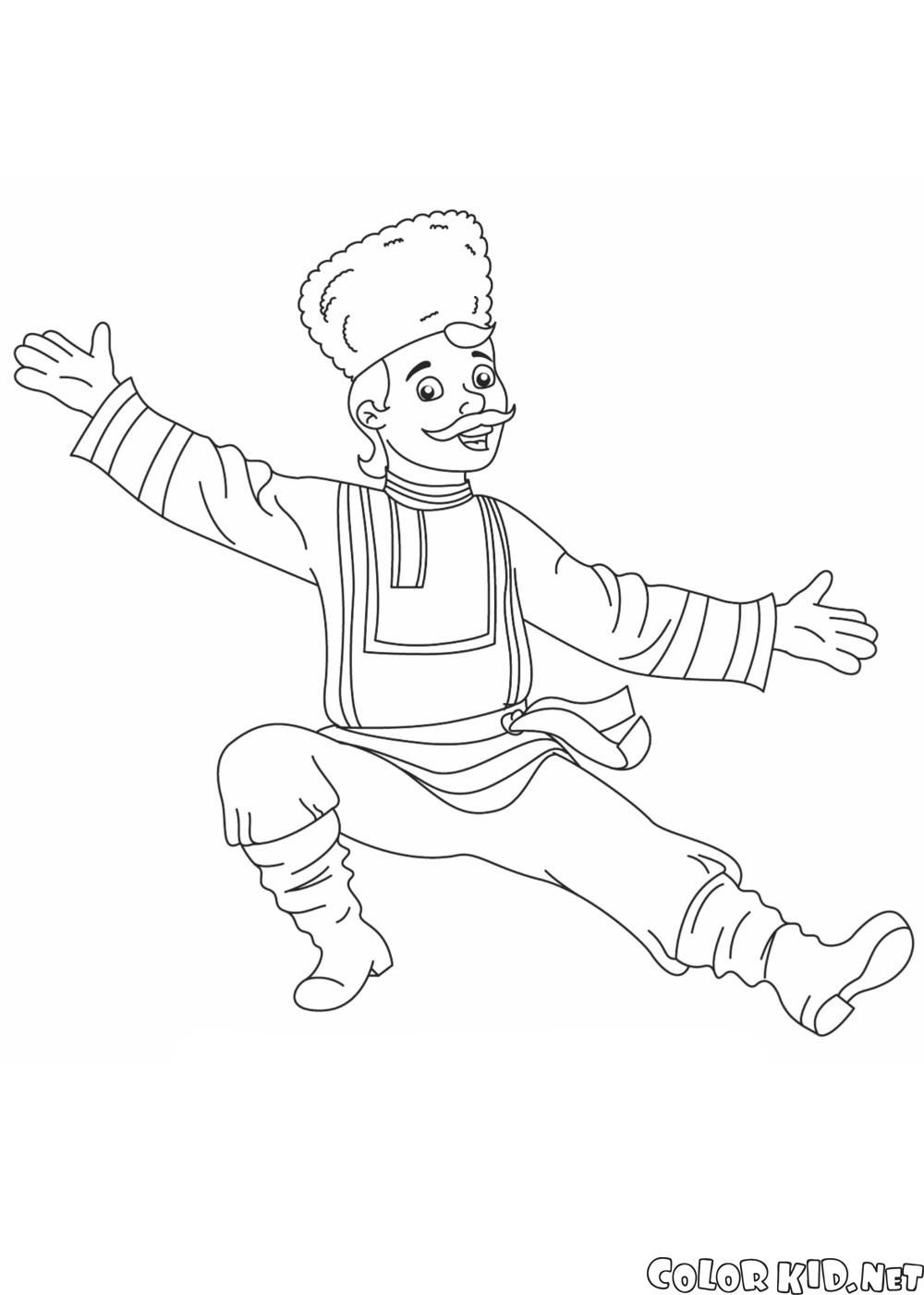 Bailarín ruso