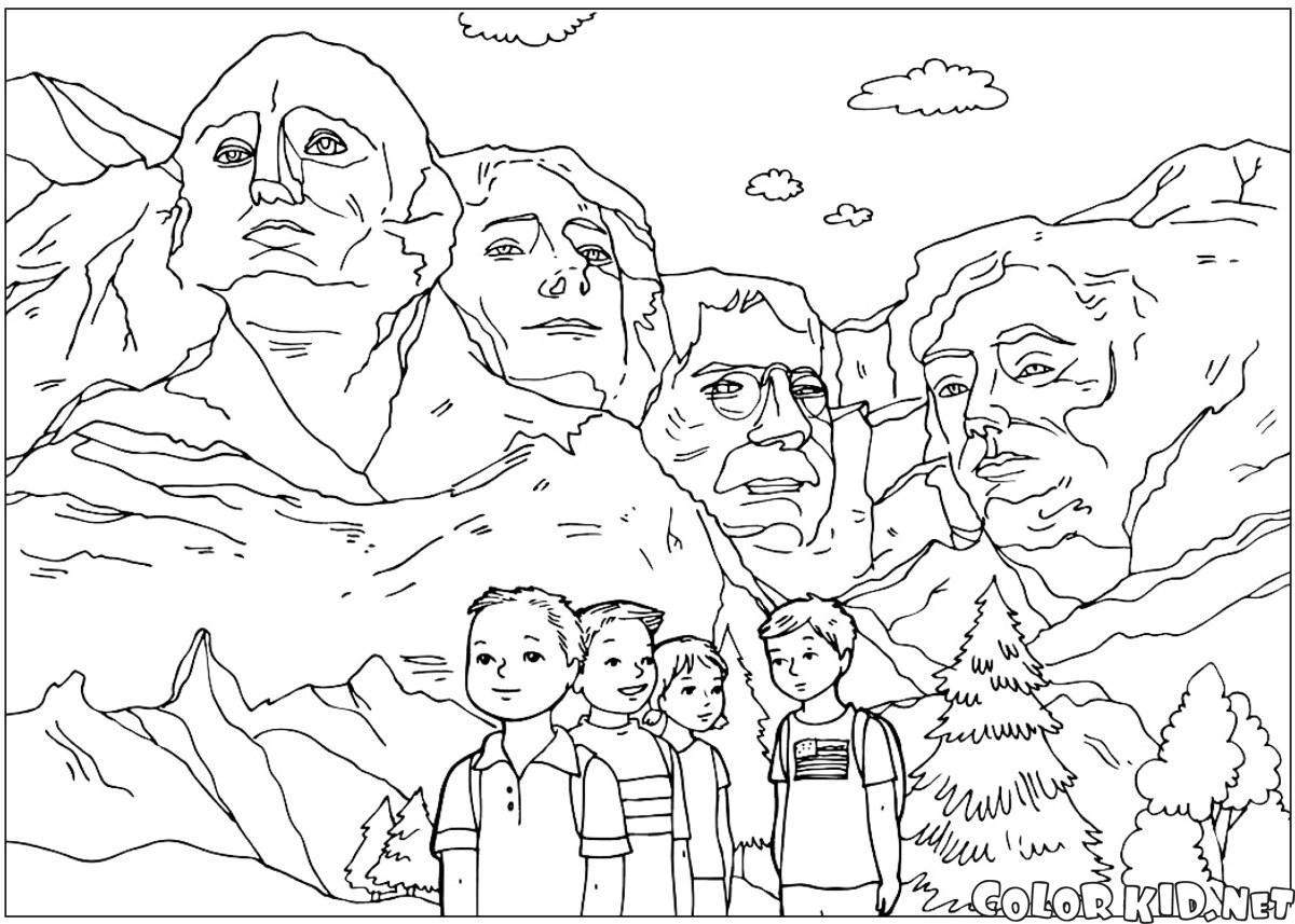 Las esculturas del Monte Rushmore