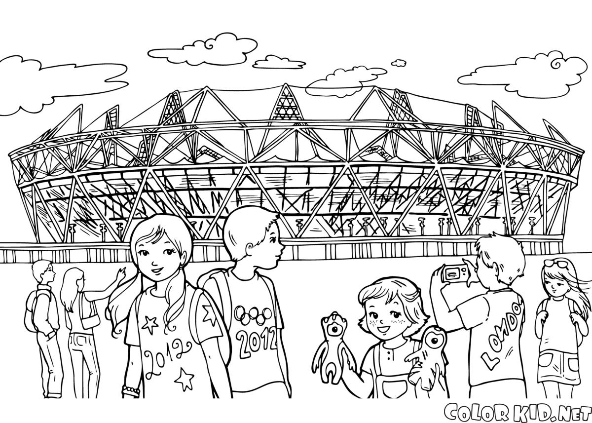 nfl stadium coloring pages - photo#29
