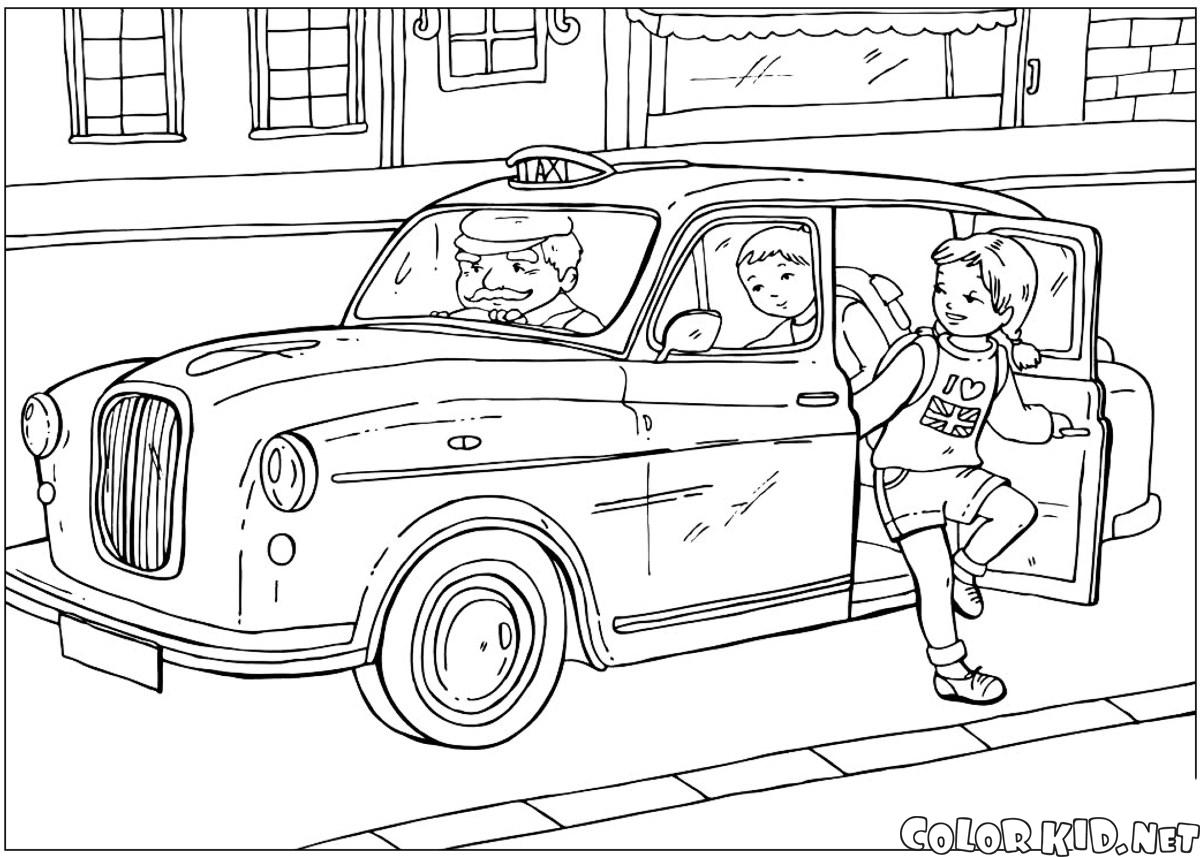 Taxis británica