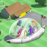 Vehículos futuristas